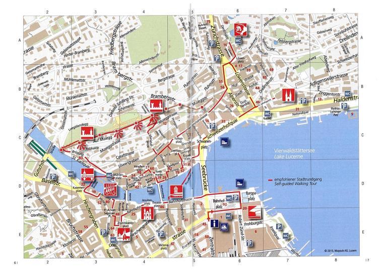 Luzern Tour Karte